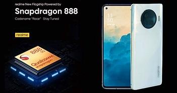 Realme chuẩn bị tung ra smartphone Race chip Snapdragon 888, RAM 12GB