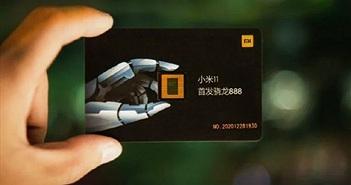 Thư mời sự kiện ra mắt Xiaomi Mi 11 gắn chip Snapdragon 888