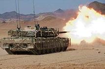 Xem xe tăng Leopard 2A6 Đức nã pháo diệt địch