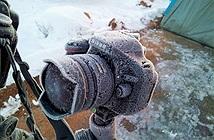 Bảo quản - sử dụng máy ảnh trong băng tuyết