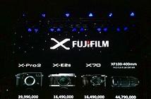Fujifilm ra mắt X-Pro2, X-E2s và X70 tại Việt Nam