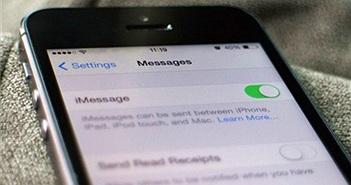 iMessage trên iPhone gặp lỗi gián đoạn ở Việt Nam
