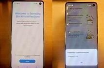 Bằng chứng cho thấy Galaxy S10 có thể lưu trữ được tiền mã hóa