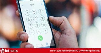 Gọi nhầm 1.600 cú điện thoại khẩn cấp, iPhone khiến cảnh sát phát điên