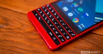 Âm thầm tại MWC 2019, BlackBerry bổ sung màu đỏ cho KEY2