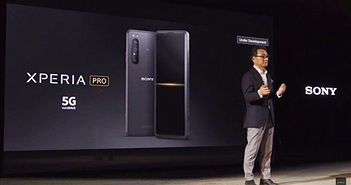 Sony phát triển Xperia Pro 5G cho dân chuyên quay phim