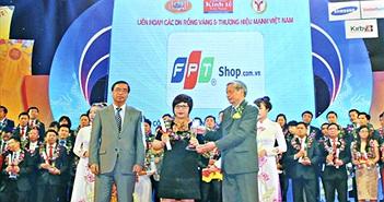 """FPT Shop vào Top """"Thương hiệu mạnh Việt Nam"""""""