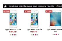 iPhone SE xách tay về Việt Nam giá 11,6 triệu đồng