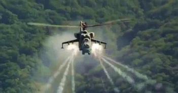 """Vì sao trực thăng vũ trang được gọi là """"cỗ xe tăng bay""""?"""