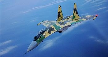"""Xem chiến đấu cơ Su-35S Nga dùng mồi bẫy né tránh """"kẻ thù"""" ở Syria"""