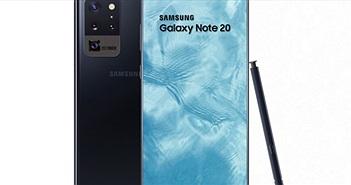 """Lộ ngoại hình """"gây sốt"""" của Galaxy Note 20"""