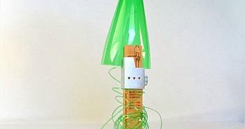 Biến vỏ chai nhựa thành những sợi dây chỉ trong vài nốt nhạc