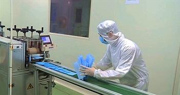 Cận cảnh quy trình sản xuất khẩu trang y tế