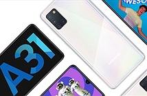 Samsung Galaxy A31 ra mắt: Helio P65, pin 5.000mAh sạc nhanh 15W
