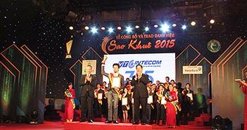 VTC 365 đạt giải thưởng Sao Khuê 2015