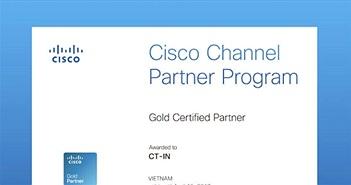 CT-IN trở thành đối tác vàng của Cisco