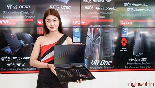 MSI giới thiệu loạt laptop chạy chip Intel thế hệ 8 tại Việt Nam