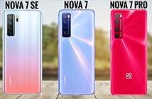 Bộ 3 Huawei Nova 7 ra mắt: camera 64MP, chip Kirin 985, giá từ 339 USD