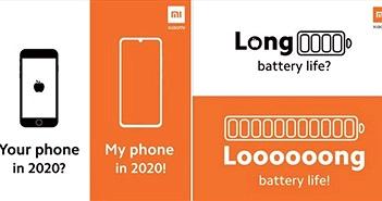 Xiaomi 'cà khịa' cực mạnh iPhone SE 2020: thiết kế lỗi thời, pin yếu