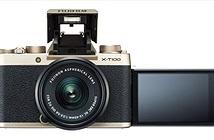 Máy ảnh Fujifilm X-T100 ra mắt: màn hình xoay lật, cảm biến 24,2MP