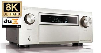 Denon tung receiver đầu bảng mới AVC-X8500 HA hỗ trợ video 8K, model cũ AVC-X8500H được hỗ trợ nâng cấp