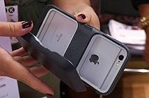 Vỏ bảo vệ kiêm bộ nhớ mở rộng, sạc dự phòng cho iPhone