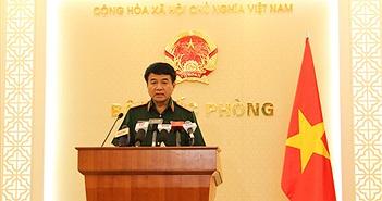 Lãnh đạo Bộ Quốc phòng trả lời phỏng vấn về vụ tai nạn máy bay Su-30 MK2 và CASA-212