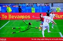 Trải nghiệm xem World Cup trên TV màn hình cong Samsung Q8C