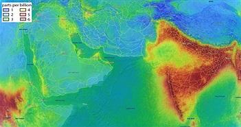 Bầu khí quyển Ấn Độ kỳ lạ nhìn từ không gian, chuyện gì xảy ra?
