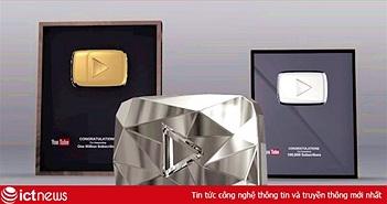 """Bà Tân Vlog nhận Nút Vàng YouTube, vậy """"nút"""" này có thật sự làm từ vàng thật hay không?"""