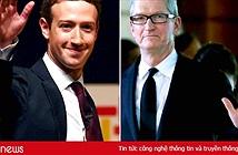 """Facebook đấu """"võ mồm"""" với Apple"""