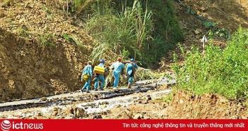 Theo chân lính Viettel băng rừng vượt suối ứng cứu khẩn cấp thông tin sau cơn bão số 3