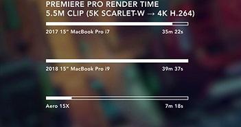 Đã có bản cập nhật sửa lỗi bóp hiệu năng trên MacBook Pro 2018