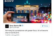 Sony Xperia Z5 sẽ được trang bị khả năng lấy nét siêu tốc