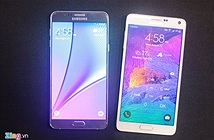 Galaxy Note 5 đọ sắc Note 4, S6 Edge Plus và Note Edge