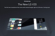 LG tuyên bố V20 sẽ là smartphone cho trải nghiệm âm thanh và video tốt nhất