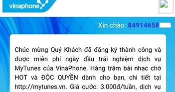 Khách hàng tố VinaPhone tự ý kích hoạt các dịch vụ GTGT