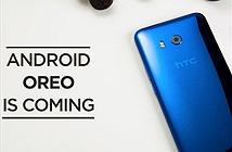 HTC U11 sắp được lên Android 8 Oreo