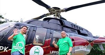 Grab thử nghiệm dịch vụ trực thăng ở Indonesia để giảm tắc đường