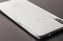 Ảnh thực tế Xiaomi Redmi Note 7 màu trắng ánh trăng, mặt lưng lấp lánh