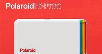 Polaroid Hi-Print: máy in ảnh bỏ túi cho smartphone không cần mực, chống nước, chống nhòe