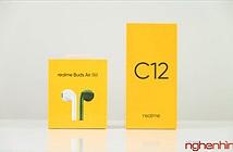 Trên tay Realme C12 và Realme Buds Air Neo: giá rẻ hứa hẹn trải nghiệm tốt