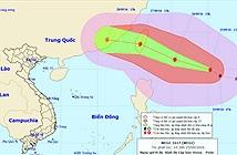 Xuất hiện cơn bão mạnh cấp 14 đang tiến vào biển Đông