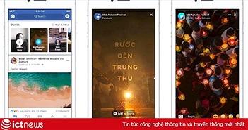 Facebook thử nghiệm tính năng về Tết Trung thu tại Việt Nam