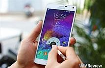 Samsung bán được 4,5 triệu chiếc Galaxy Note 4