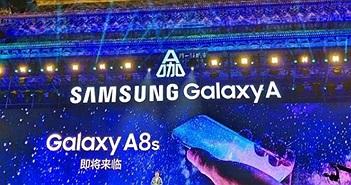 Samsung mang thiết kế quá đỉnh vào smartphone Galaxy A8s, đẹp miễn chê