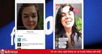 """Facebook có thêm tính năng """"hát nhép"""" giống TikTok"""