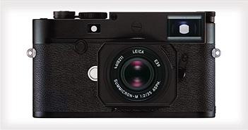 Leica ra mắt máy ảnh cao cấp M10-D với thiết kế giống máy film