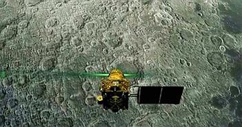 """Tàu vũ trụ của Ấn Độ """"chết thảm"""" trên Mặt trăng, nhưng xác tàu ở đâu cũng không ai biết"""