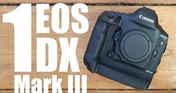 Canon EOS 1D X Mark III ra mắt: quay 4K60fps, ảnh 10-bit HEIF, giá dự kiến 6.000 USD